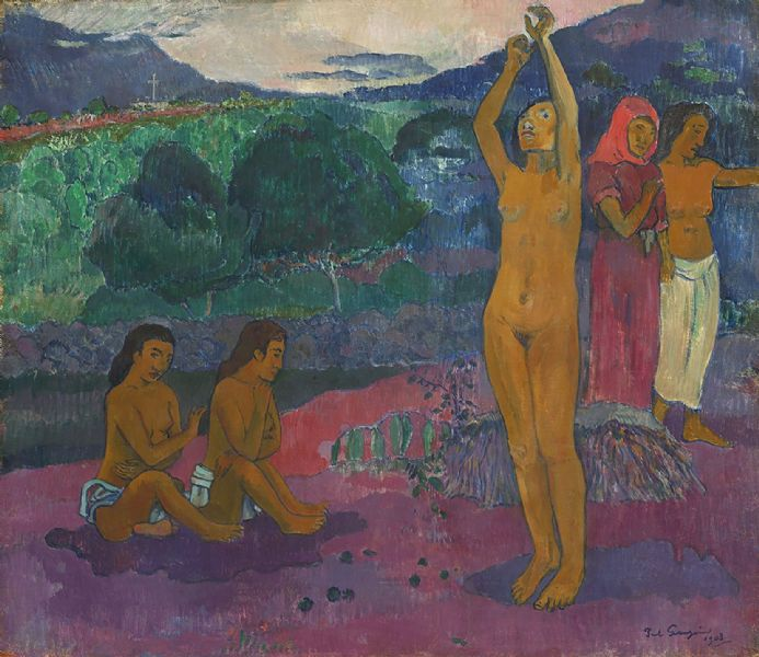 Gauguin, Paul: The Invocation. Fine Art Print/Poster (004133)